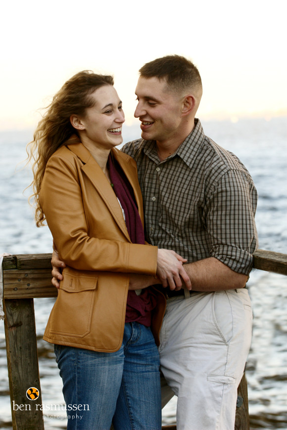 Engagement Portraits by Washington DC wedding photographer Ben Rasmussen Photography