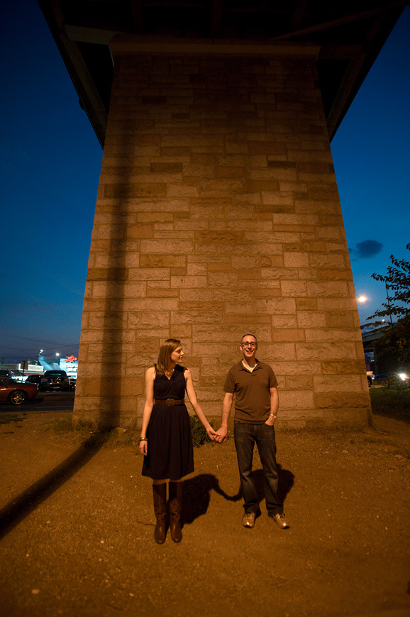 Summer and Adam's engagement session by Washington DC wedding photographer Ben Rasmussen Photography